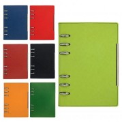 Agenda organizer A5 nedatata cu 6 inele, diverse culori - ALICANTE Precision