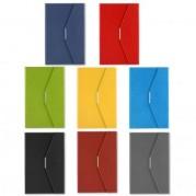 Agenda A5 nedatata, tip plic, cu decupaj pentru pix, diverse culori - ALICANTE Precision Ultra