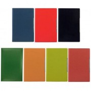 Agenda A5 nedatata, cu decupaj pentru pix, diverse culori - ALICANTE Precision