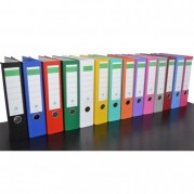 Biblioraft A4 plastifiat PP/H 80 mm, color ( 18 culori ) - NN