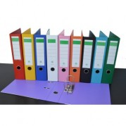 Biblioraft A4 plastifiat PP/PP 80 mm, color ( 13 culori ) - NN