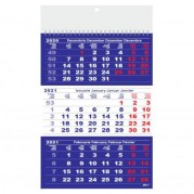"Calendar triptic de perete 2021 "" CRIST Clasic II"