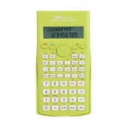 Calculator stiintific 12 digiti (2 liniI), 240 functii, alimentara baterie, color – DELI 1710