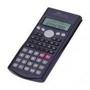 Calculator stiintific 12 digiti (2 liniI), 240 functii, alimentare baterie, negru - DELI 1710