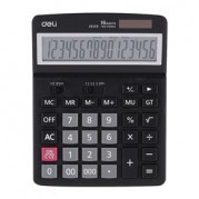 Calculator de birou 16 dgt, calcule fiscale, taste touch, alimentare duala - DELI 39259