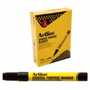 Marker pentru uz general (sticla,plastic,otel,gresie), varf rotund 1.5mm, color - ARTLINE