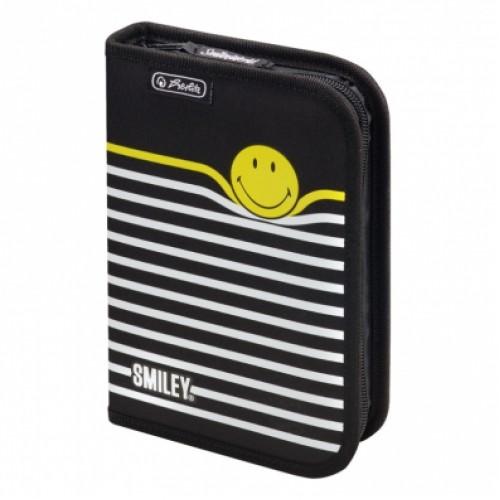 Penar neechipat, cu extensie (clapa) - HERLITZ ( decor Smiley World Black Stripes )