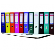 Biblioraft A4 plastifiat PP/H 50 mm, color ( 12 culori ) - OPTIMA