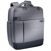 Rucsac laptop 15,6'' Smart Traveller, polyester argintiu - LEITZ Complete
