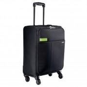 Troller business cu 4 rotile Smart Traveller, polyester negru - LEITZ Complete