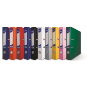 Biblioraft A4 plastifiat PP/H 75 mm, color ( 9 culori ) - NOKI