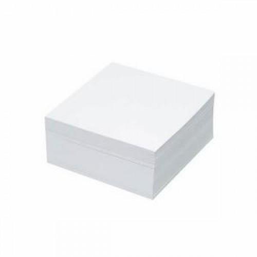 Cub notite hartie alba, 9x9 cm, 500 file ( nelipite ) - GOLD