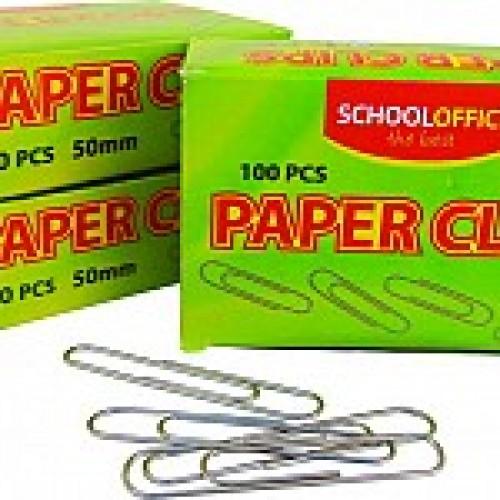 Agrafe birou 28 mm, 100 buc/cutie - CH ( SCHOOL OFFICE )