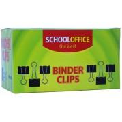 Clipsuri pentru hartie - 32 mm, 12 buc/cutie - CH (SCHOOL OFFICE)