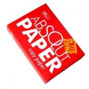 Hartie copiator A4 alba, 80gr/mp, 500 coli/top (ambalare 5 topuri/cutie) – ABSOLUT Paper
