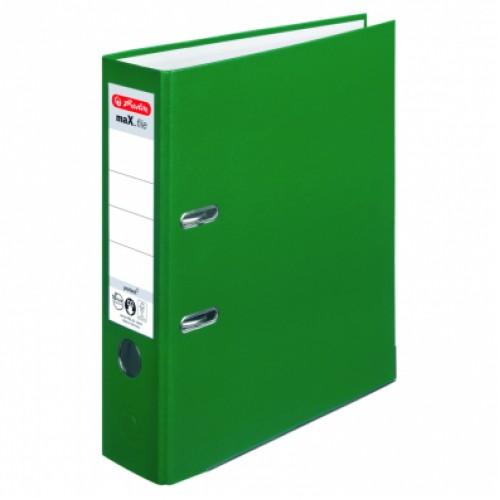 Biblioraft A4 plastifiat PP/H 80 mm, color ( 13 culori ) - HERLITZ