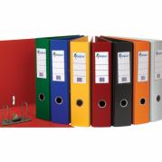 Biblioraft A4 plastifiat PP/PP ( int-ext ) 80mm, sina metalica, color ( 5 culori ) - FORPUS