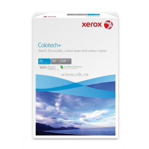 Etichete autoadezive albe lucioase - 160gr., colturi drepte, 1/SRA3, 250 coli/top – XEROX Colotech