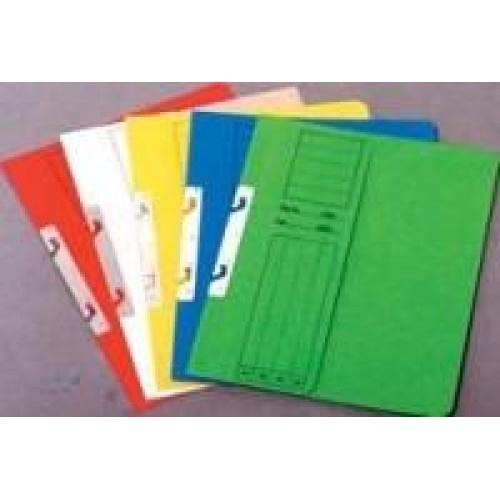 Dosar carton color incopciat 1/2 A4, carton 230 gr., culori intense - GOLD