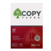 Hartie copiator A4 alba, 80gr/mp, 500 coli/top - IK Copy Paper