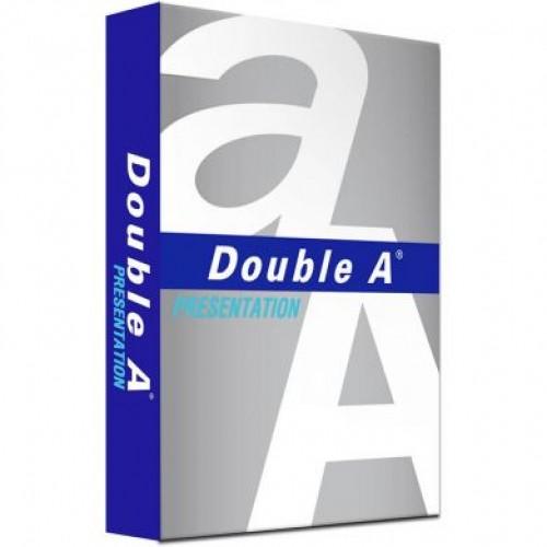 Hartie copiator A4 alba, 100gr/mp, 500 coli/top - DOUBLE-A Presentation (clasa A)