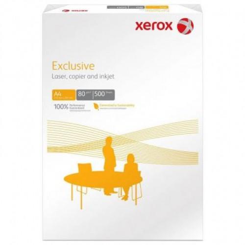 Hartie copiator A4 alba, 80gr/mp, 500 coli/top – XEROX Exclusive