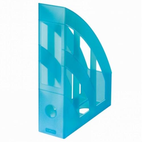 Suport dosare vertical A4 - 75mm, plastic translucid color ( 7 culori ) - HERLITZ