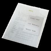 Mapa (folie) protectie documente A4 transparenta - 200 microni, cu separatoare, 3 buc/set - LEITZ Combi File