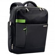 Rucsac laptop 15,6'' Smart Traveller, polyester negru - LEITZ Complete