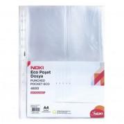 "Folie protectie documente A4 "" standard "" - 38 microni, 100 buc/set - NOKI"
