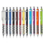 Creion mecanic, metalic color, grip ergonomic ( 0.35;0.5;0.7;1.0mm ) - ROTRING Ticky III