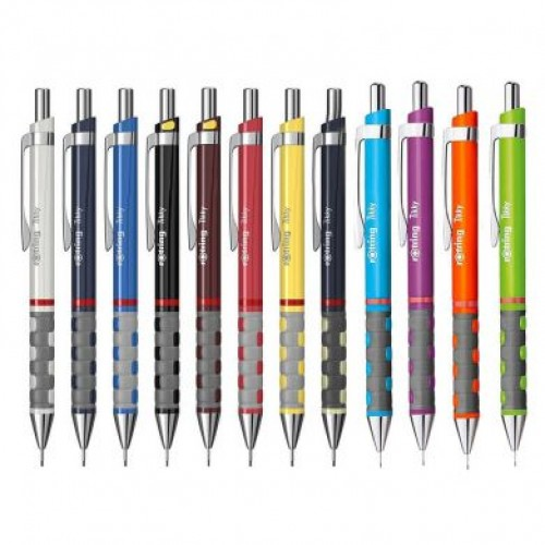 Creion mecanic, metalic color, grip ergonomic ( 0.35;0.5;0.7;1.0mm ) - ROTRING Ticky III