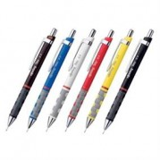 Creion mecanic, corp metalic color, grip cauciuc ( 0.35;0.5;0.7;1.0mm )  - ROTRING Ticky III