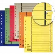 Separatoare biblioraft C4 (240 x 300mm), carton color manilla 250gr/mp, 100 buc/set - ELBA